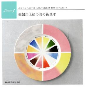 上絵の具色見本 2019.10.13