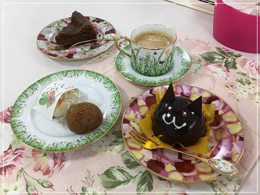 ティーフォーワン-ケーキ 2017.10.20
