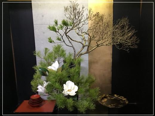 お正月アレンジ 2018.12.31